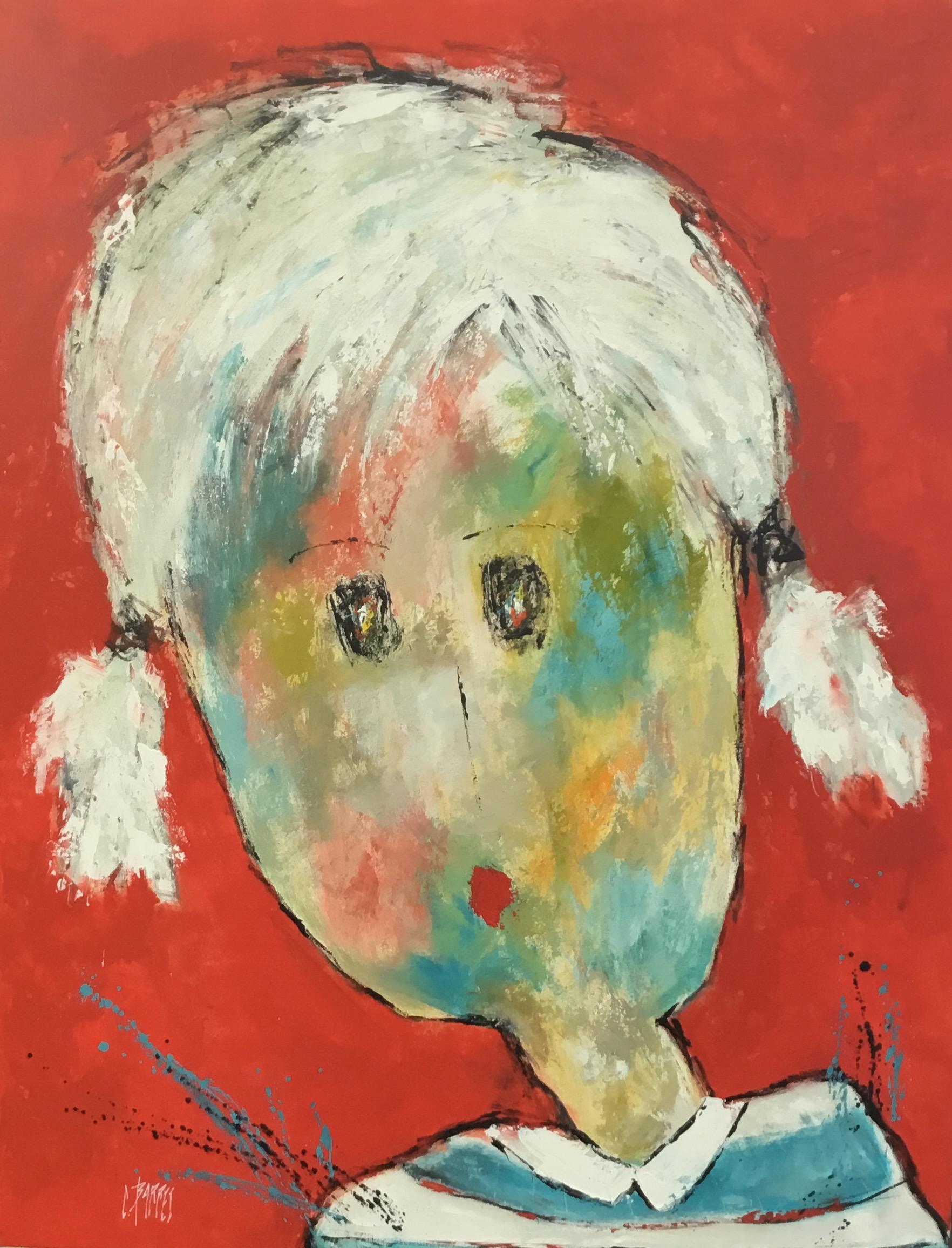 Christine Barrès - Série Portraits - Peinture Portrait