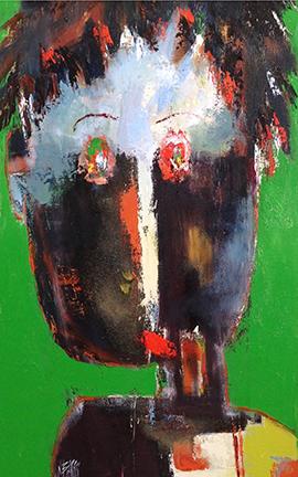Christine Barrès - Peinture, oeuvre portrait