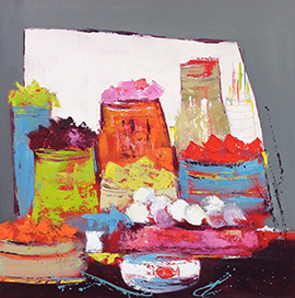 Christine Barrès - peinture, oeuvre