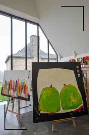 Christine Barrès - Femme & autodidacte - Peintures Personnages et Fruits