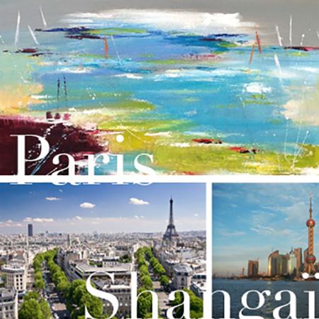 Christine Barrès - parcours Paris, Shangaï